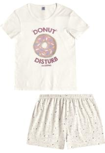 Short-Doll Hering Donuts Funny Off-White