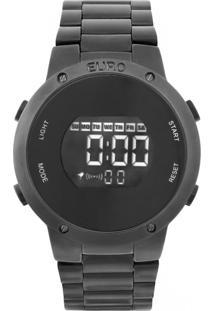 Relógio Fashion Fit Euro Eubj3279Ab/4P Preto