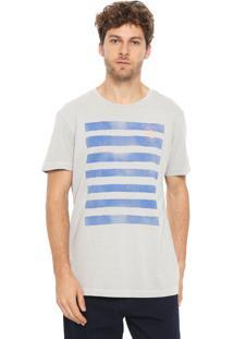 Camiseta Richards Stripes Cinza