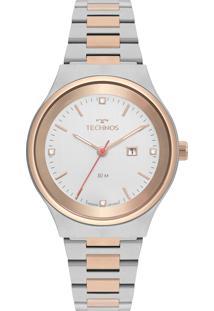 Relógio Technos Feminino Classic Analógico Prata 2015Ccb5K