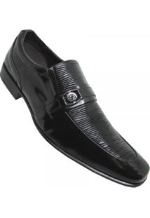 Sapato Social Hugo Sioli Verniz Masculino