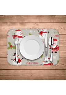 Jogo Americano De Natal Merry Christmas Kit Com 6 Pã§S - Multicolorido - Dafiti