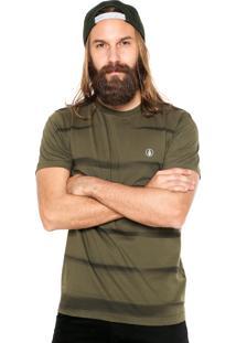 Camiseta Volcom Zebra Verde