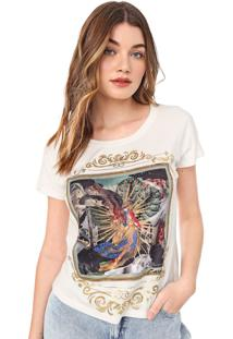 Camiseta Carmim Luz Off-White