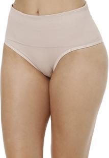 Calcinha Del Rio Modeladora Feminina - Feminino-Nude