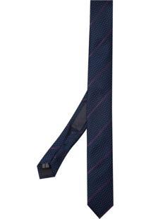 Gravata 5 7 Cm (Azul Escuro, Un)