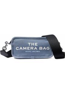 Marc Jacobs Bolsa Transversal The Camera - Azul