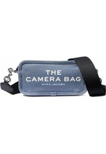 Marc Jacobs Bolsa Transversal The Camera - Azul
