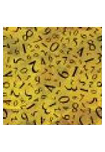 Papel De Parede Adesivo - Números - 020Ppd
