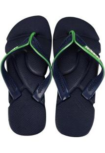 Sandálias Havaianas Power - Masculino-Marinho+Verde