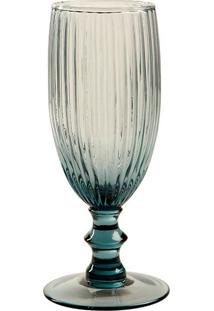 Taça De Champagne Kiwi Blue