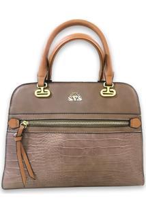 Bolsa Transversal Sys Fashion 8547 Caqui