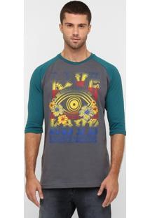 Camiseta 3/4 Live Love - Masculino