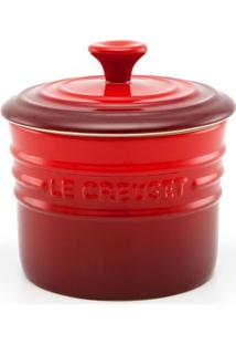 Porta Condimentos Pequeno Vermelho Le Creuset