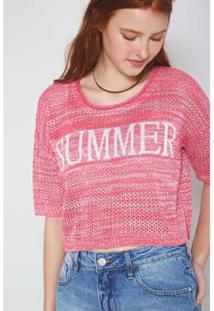 Blusa Tricot Summer Bloon - Oh, Boy! - Feminino