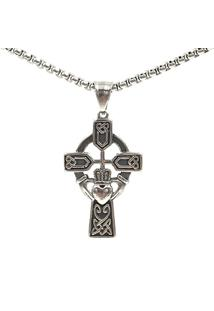 Colar Masculino Luxury Cross Metal