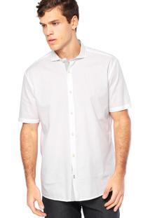 Camisa Manga Curta Vr Slim Branca