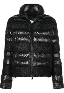 Moncler Padded Down Jacket - Preto