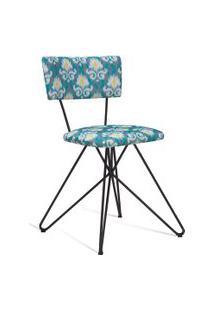Cadeira Butterfly 0020 Cinza E Verde Daf
