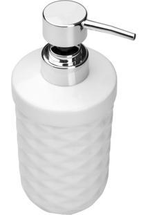 Porta Sabonete Líquido De Cerâmica Cesme 350Ml