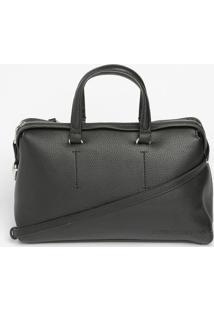 Bolsa Transversal Texturizada - Preta - 24X36X13Cmcalvin Klein