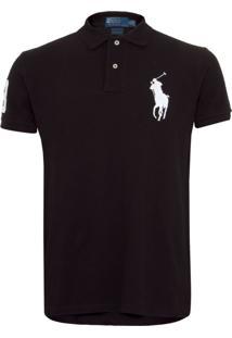 Camisa Polo Ralph Lauren Preta