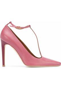 Malone Souliers Sapato Com Tira T - Rosa
