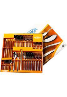 Faqueiro Turim 42 Peças Aço Inox 5111-118 Brinox