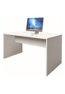 Mesa Livorno Office Bonatto 1,20X78X60 (Com X Alt X Lar) Branco Fosco