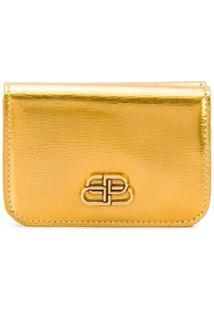 Balenciaga Carteira Bb Mini - Dourado