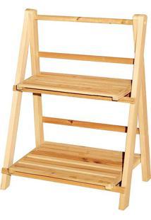 Estante Le Wood Com 2 Prateleiras 36X21X47Cm Madeira Cores Diversas - Item Sortido