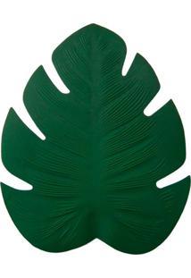 Jogo Americano Folha Costela De Adã£O Verde - Incolor - Dafiti