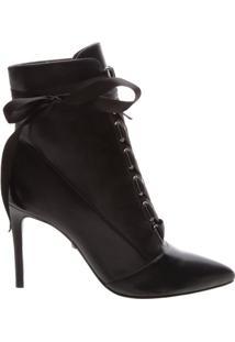 Ankle Bootie Gaga Lace Up Black | Schutz