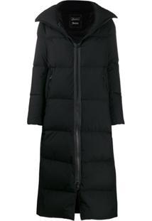 Herno Long Padded Coat - Preto