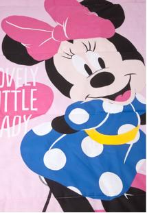 Edredom Solteiro Santista Disney Minnie Lovely Rosa