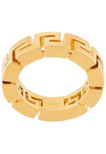 Versace Greca Motif Ring - Dourado