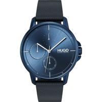 8663ae08d45 Relógio Hugo Boss Masculino Couro Azul - 1530033