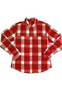 Camisa Salomon Chase Ls Masculino P Vermelho