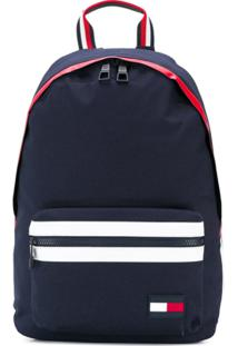 Tommy Hilfiger Striped Detail Backpack - Azul