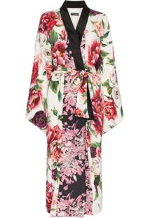 Dolce & Gabbana Robe Jacquart Estampado