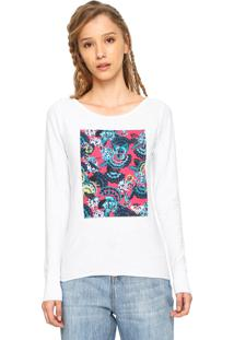 Camiseta Roxy Tropical Spot Branca - Kanui
