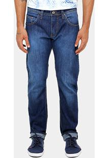 Calça Jeans Slim Fit Colcci Estonada Masculina - Masculino-Jeans