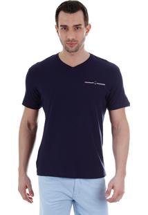 Camiseta Masculina Ocean Bay - Marinho