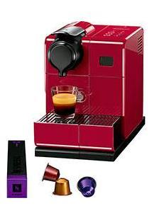 Cafeteira Expresso Nespresso Lattissima Touch 19 Bar - Red