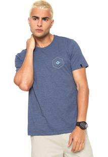 Camiseta Quiksilver Hexa Gone Azul