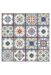 Adesivo De Azulejo Vila Velha 15X15 Cm Com 18Un