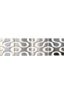 Espelho Decorados De Parede Design Moderno 49X204 Cm