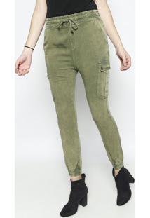 Calça Pijama - Verde Militar- Lança Perfumelança Perfume