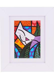 Quadro Romero Britto Behind The Bushes Trevisan Concept