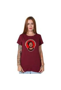 Camiseta Chorão Bordô